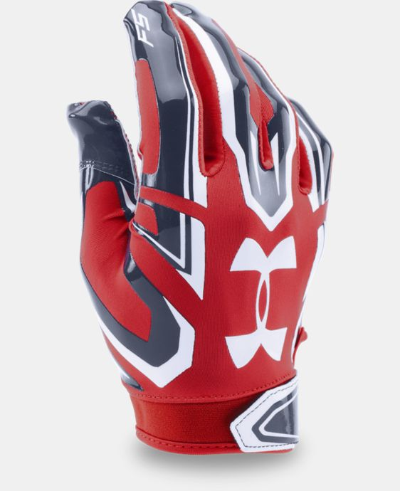 New Arrival Men's UA F5 Pro Football Gloves   $34.99