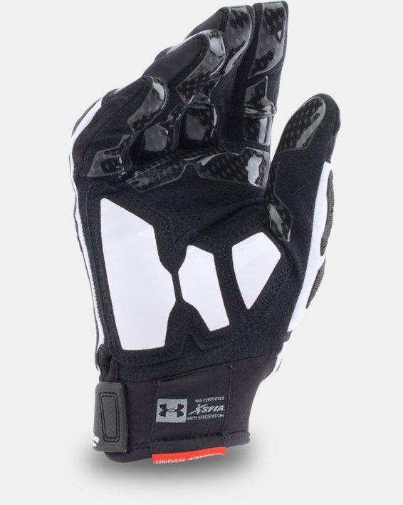 Men's UA Combat V Football Gloves, White, pdpMainDesktop image number 1