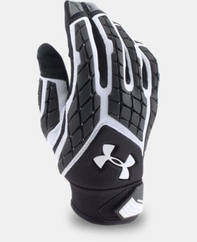Men's UA Combat V Football Gloves  1  Color Available $54.99