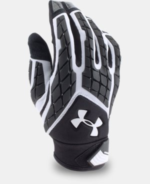Men's UA Combat V Football Gloves  1 Color $54.99