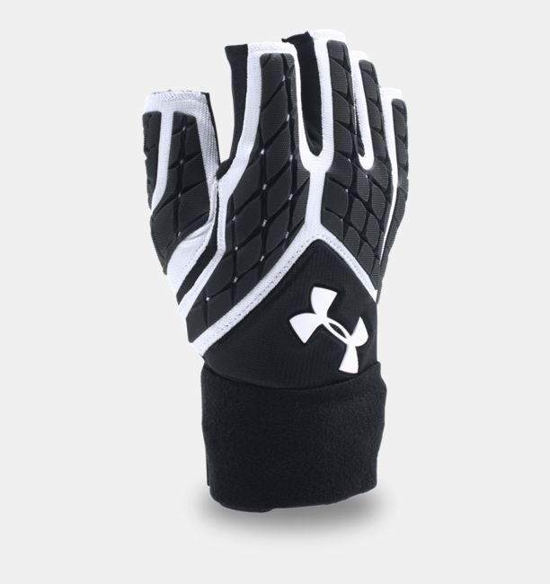 8567a0ffc6 Men's UA Combat V Half-Finger Football Gloves | Under Armour US
