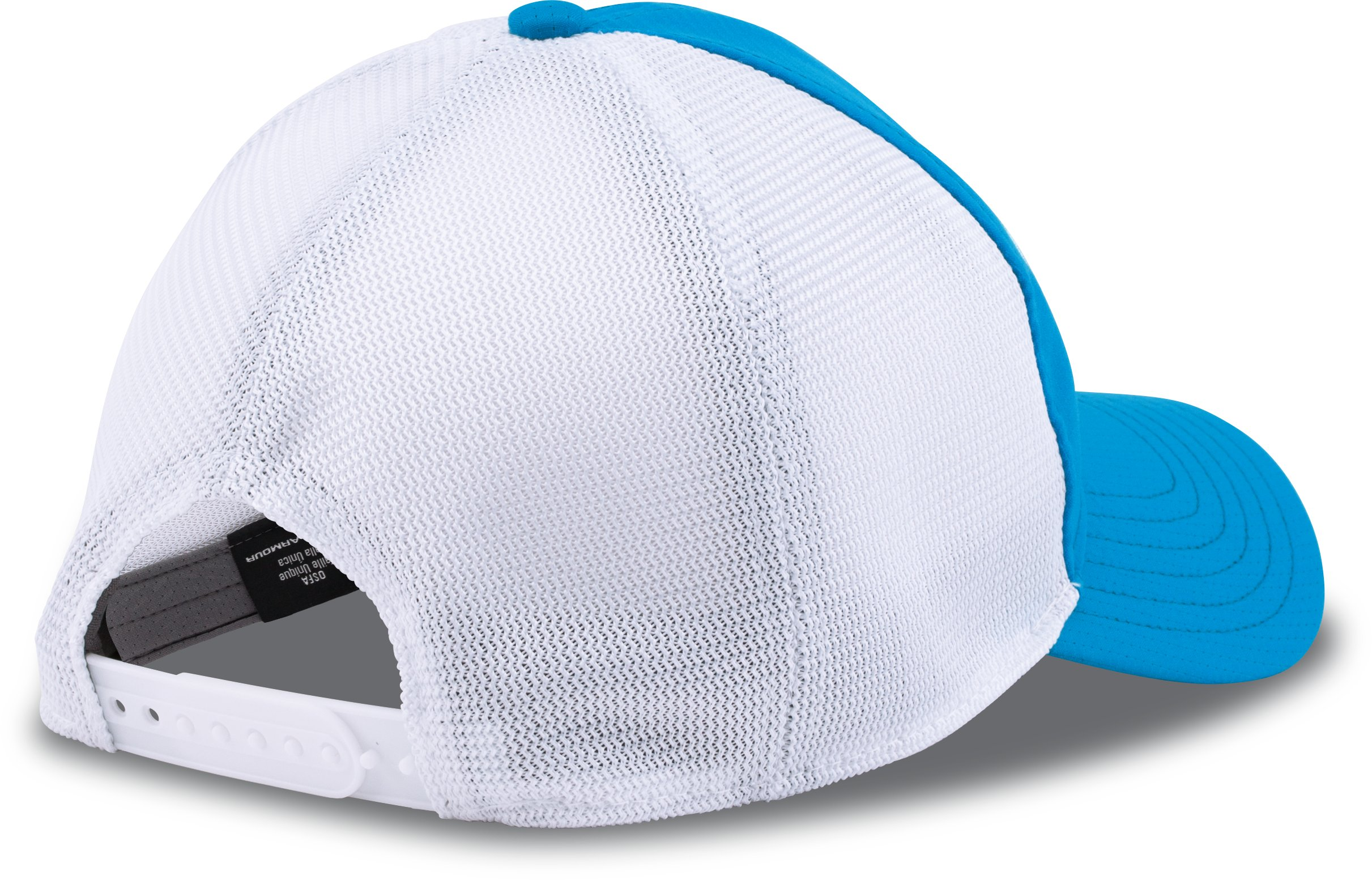 Men's UA CoolSwitch ArmourVent™ Patch Cap, ELECTRIC BLUE, undefined