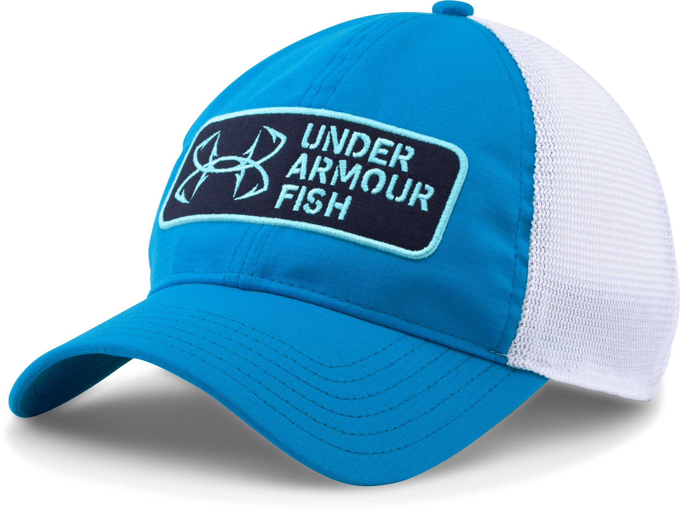 Men's UA CoolSwitch ArmourVent™ Patch Cap, ELECTRIC BLUE