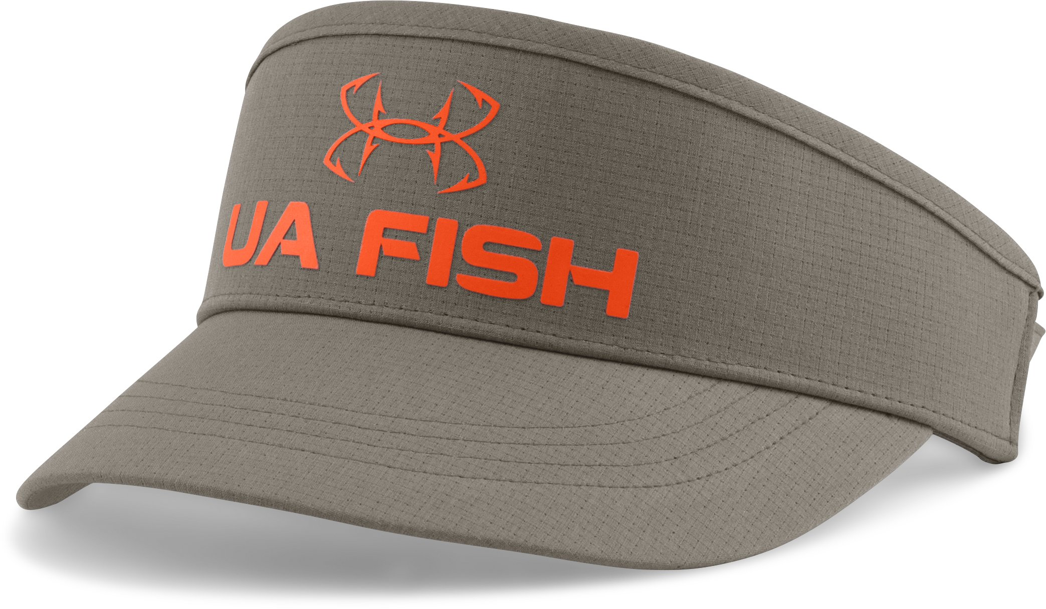 Men's UA CoolSwitch ArmourVent™ Visor, STONELEIGH TAUPE