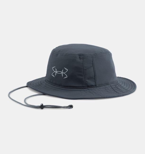 Men 39 s ua fish hook bucket hat under armour us for Under armour fish hook hat