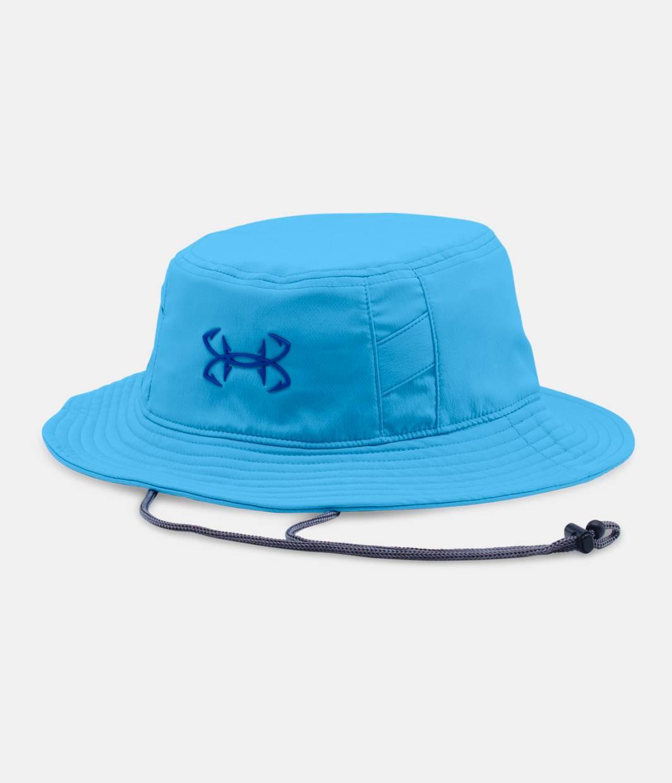 Men 39 s ua fish hook bucket hat under armour ca for Under armour fish hook bucket hat