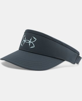 Men's UA Fish Hook Visor  3 Colors $29.99