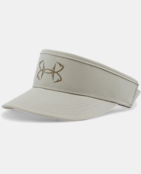 Men's UA Fish Hook Visor LIMITED TIME: FREE SHIPPING  $12.93 to $17.24