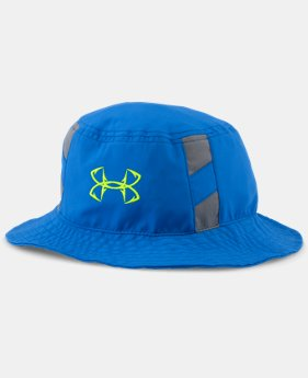 New Arrival  Boys' UA Fish Hook Bucket Hat LIMITED TIME: FREE SHIPPING  $34.99