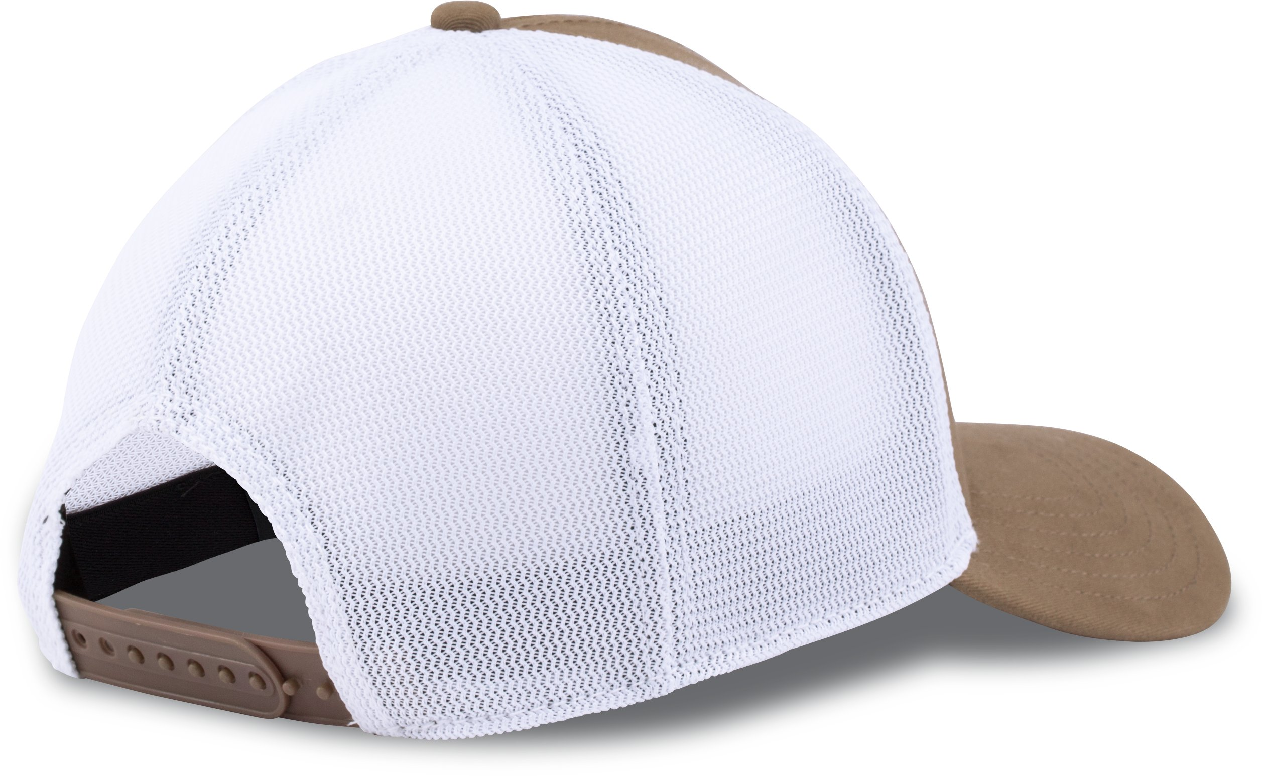 Men's UA Fish Hook Big Logo Mesh Cap, Saddle, undefined