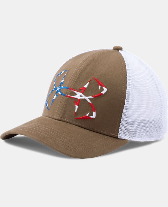 Men's UA Fish Hook Big Logo Mesh Cap LIMITED TIME: FREE U.S. SHIPPING 1 Color $24.99