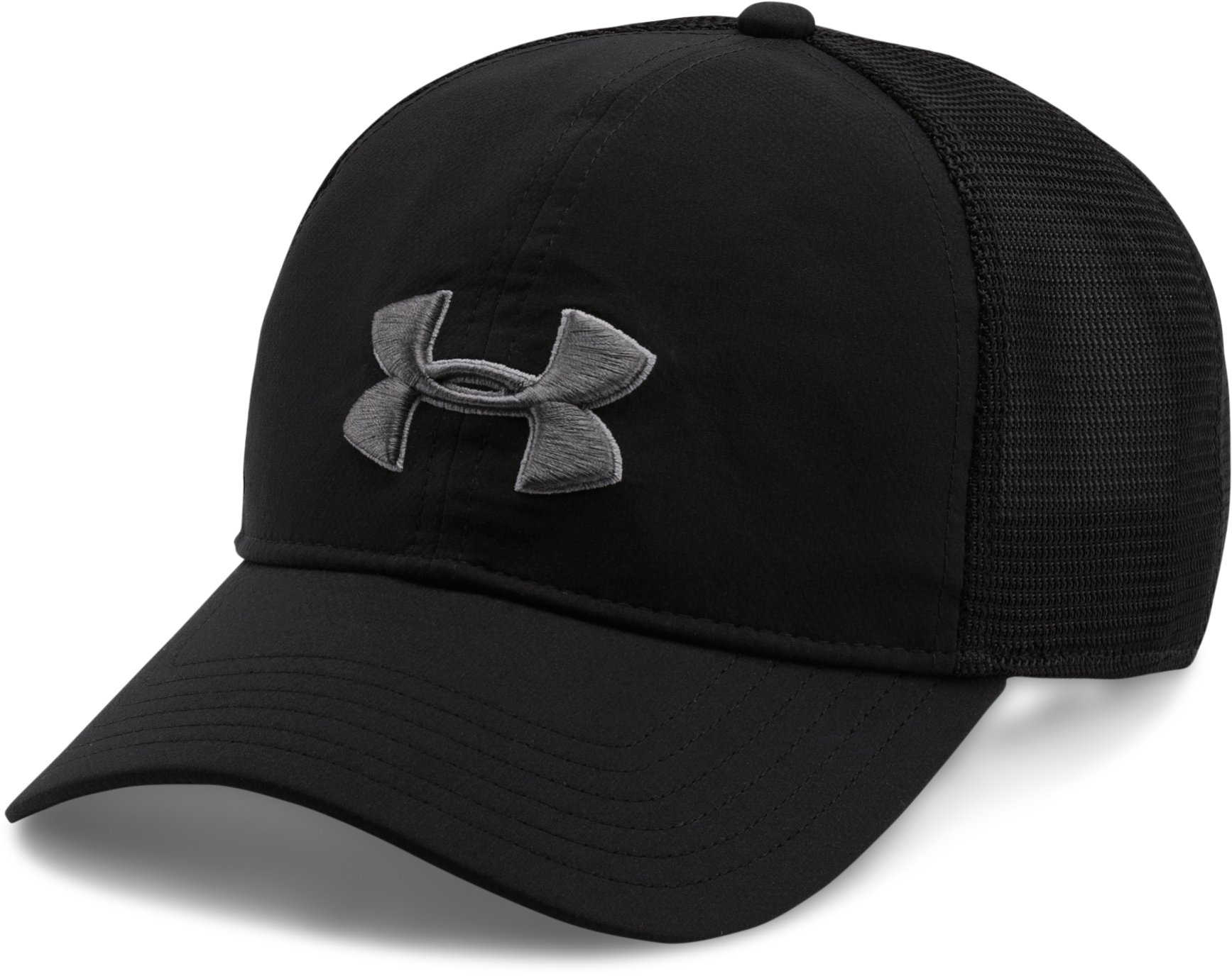 Men's UA Classic Mesh Back Cap, Black , undefined
