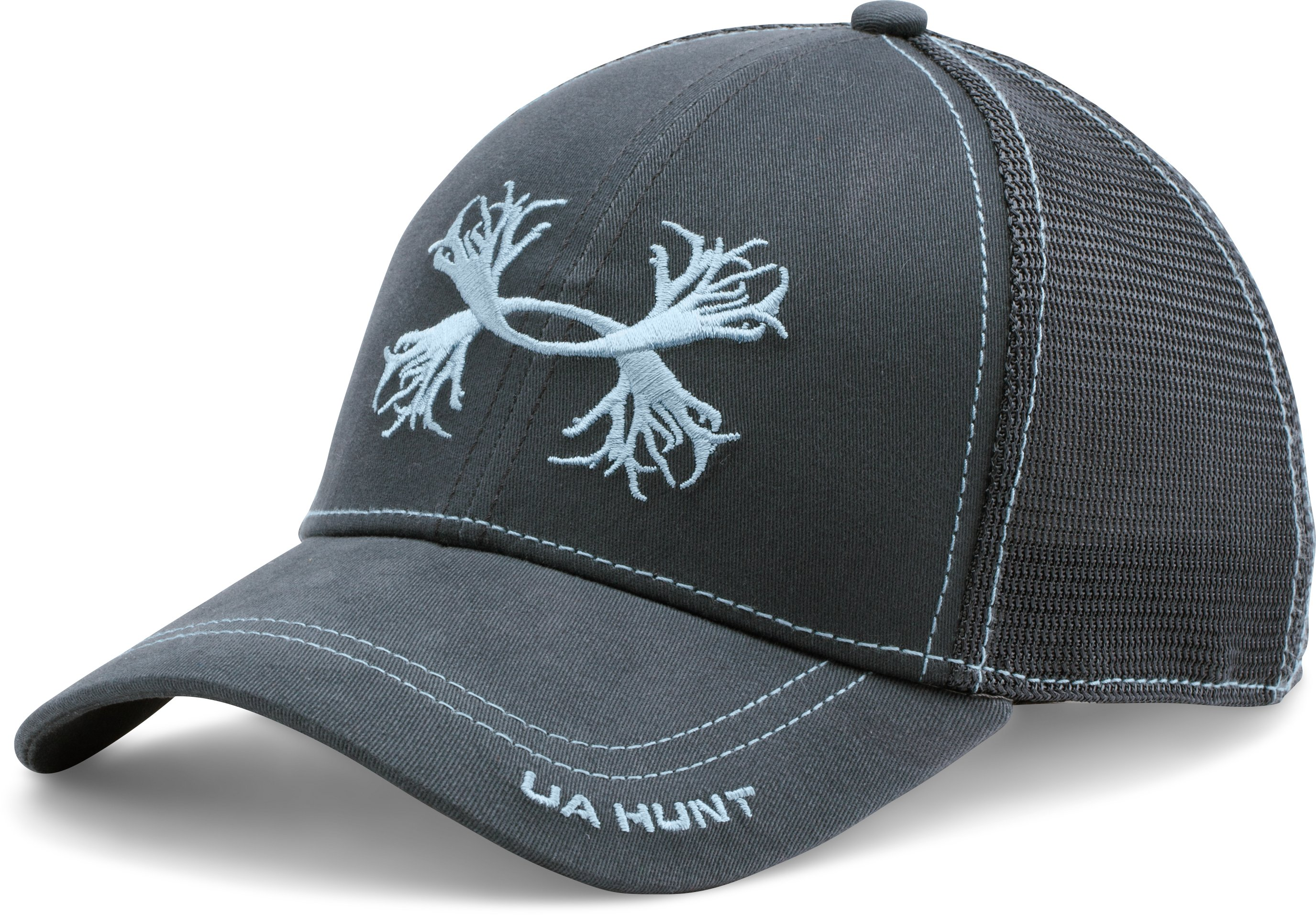 Men's UA Antler Mesh Cap, STEALTH GRAY, undefined