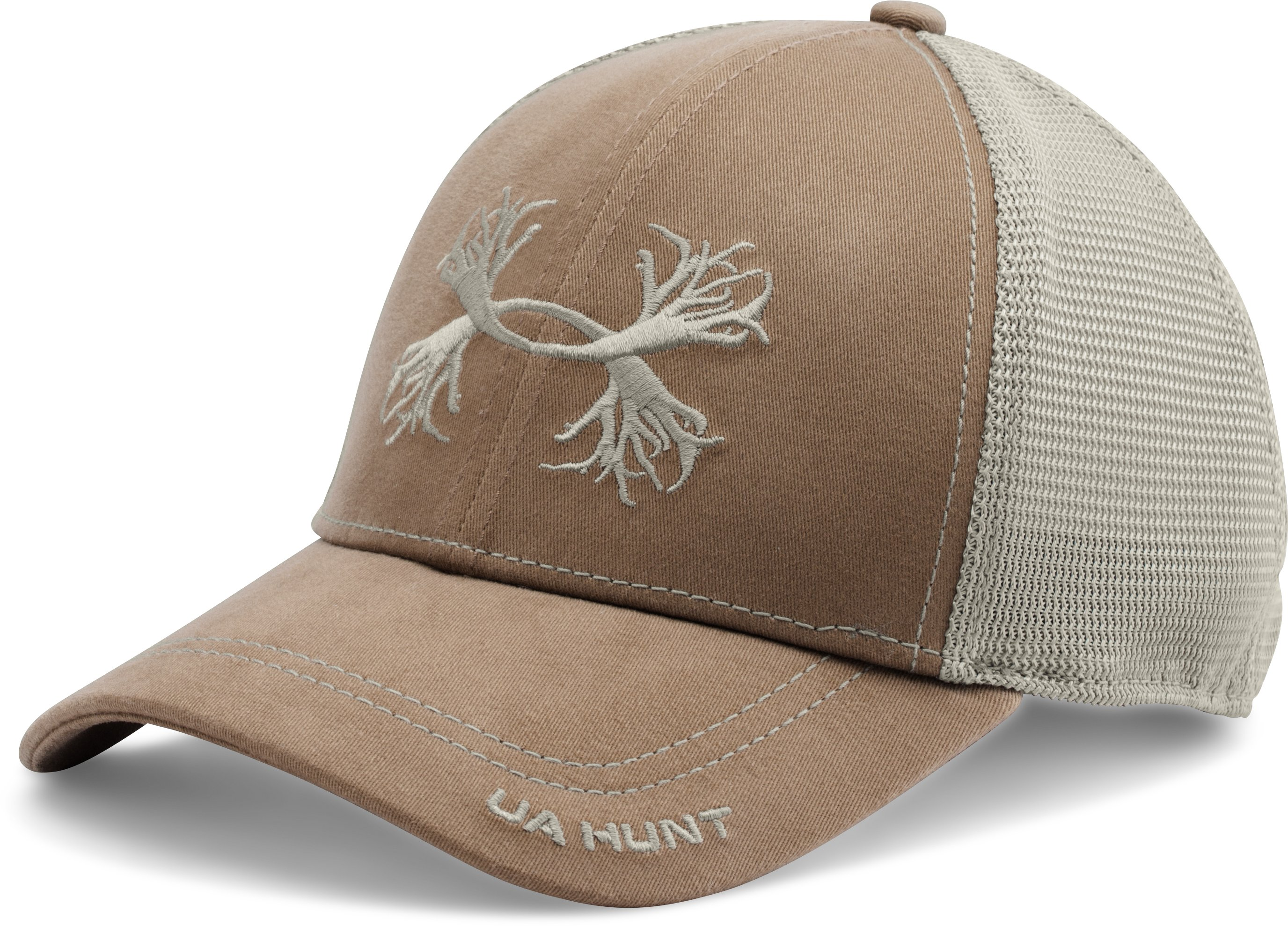 Men's UA Antler Mesh Cap, Saddle,
