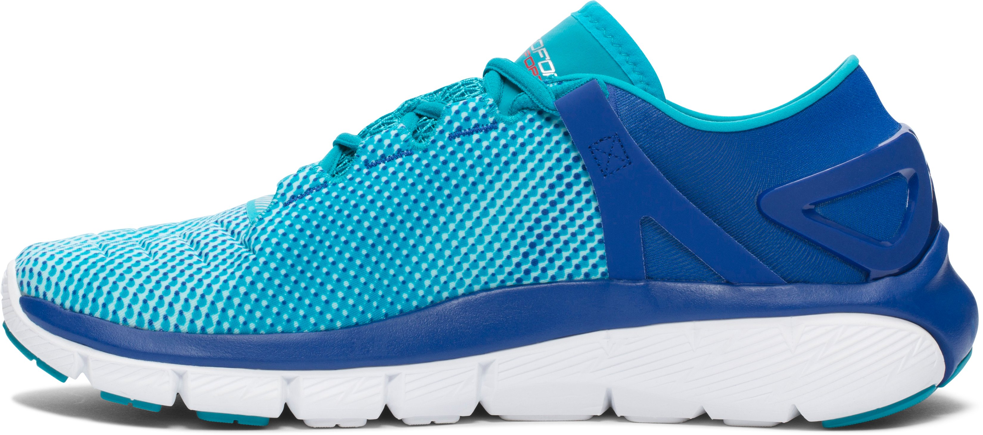 Women's UA Speedform® Fortis — Pixel Running Shoes, COBALT