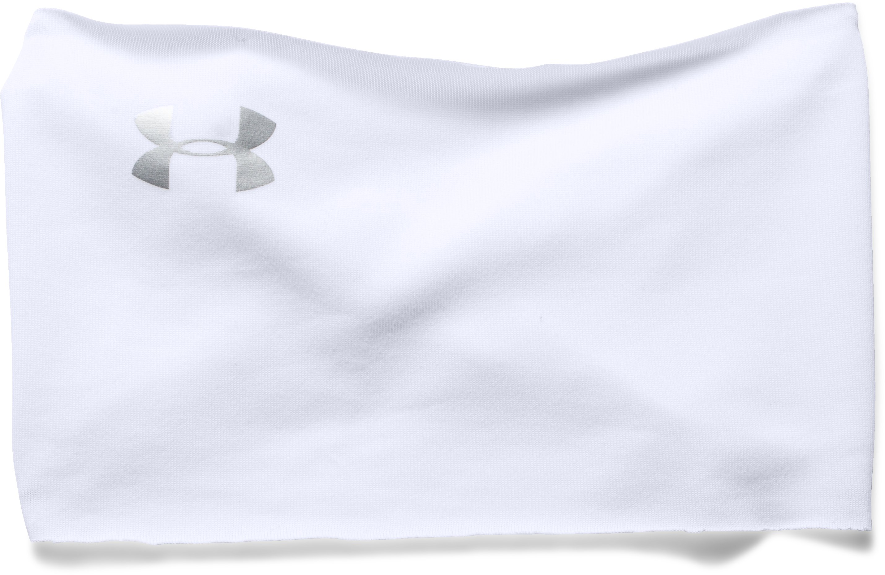 Women's UA Boho Headband, White, zoomed image
