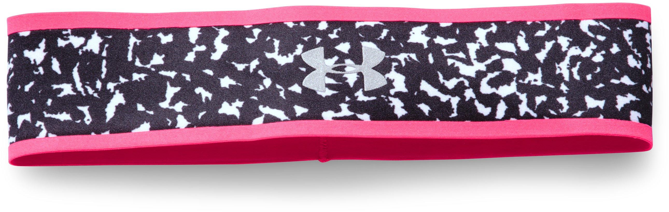 Women's UA Fly Fast Reversible Headband, HARMONY RED