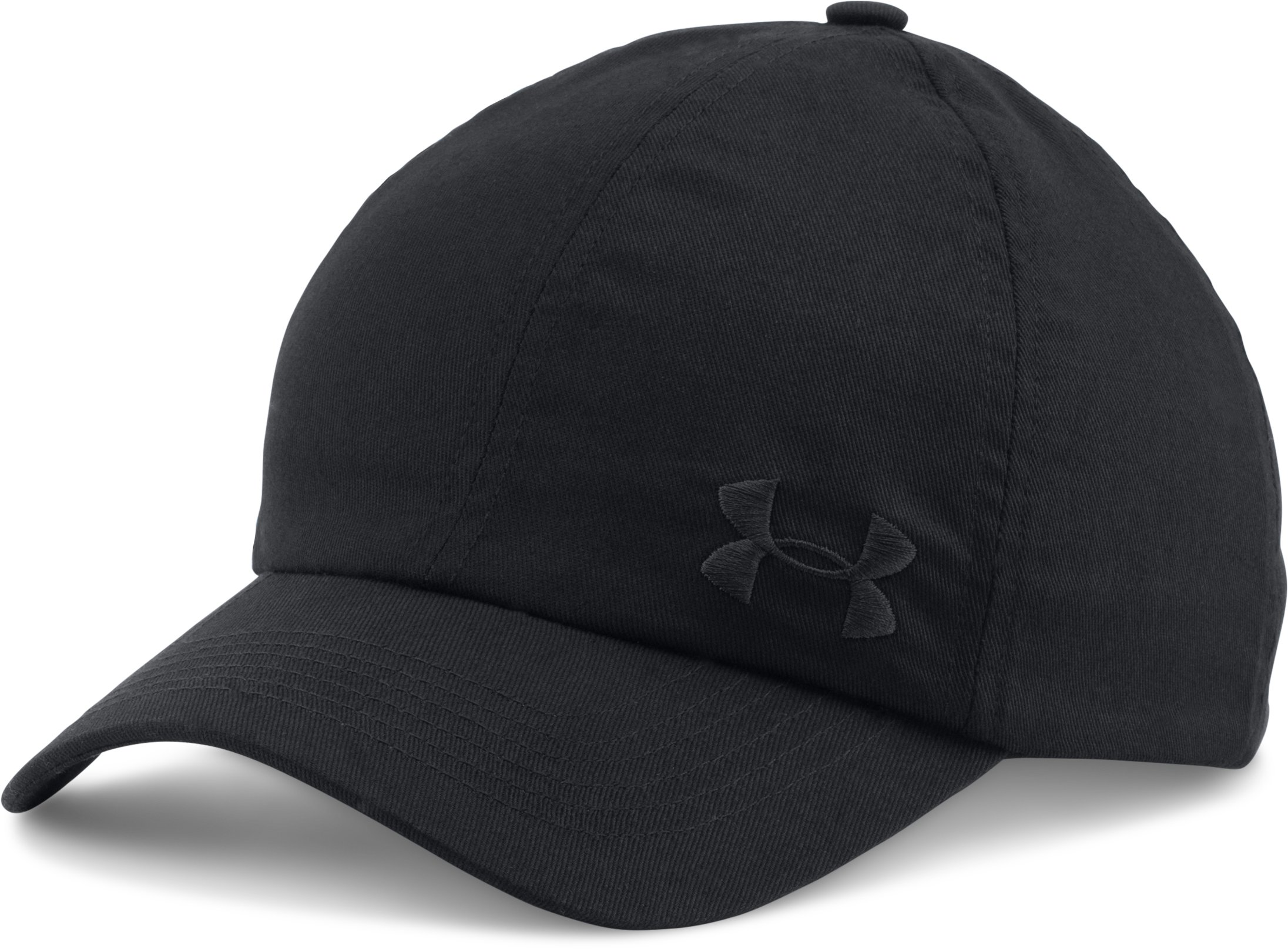 Women's UA Armour Cap, Black