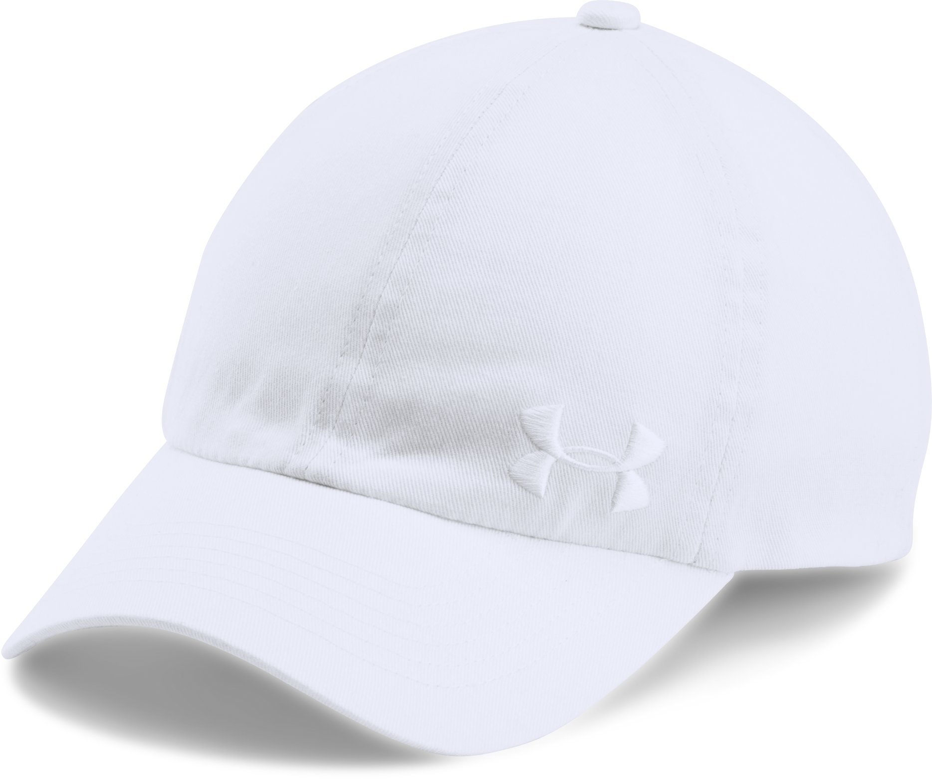 Women's UA Armour Cap, White