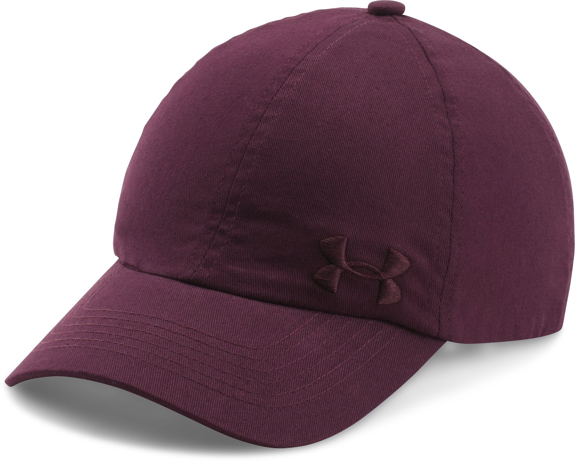 Women's UA Armour Cap, RAISIN RED