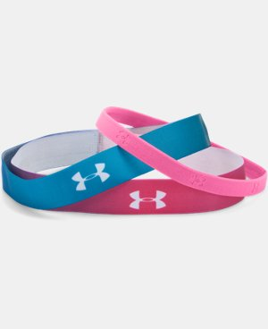 Girls' UA Ombre Headband 3-Pack  1 Color $9.99