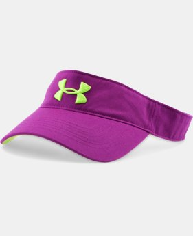 Girls' UA Armour Visor LIMITED TIME: FREE SHIPPING 1 Color $20.99
