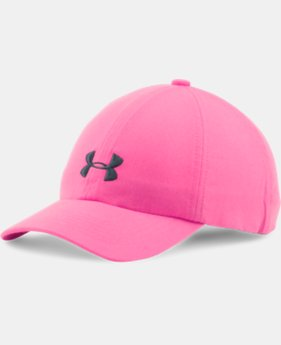Girls' UA Armour Cap LIMITED TIME: FREE SHIPPING 3 Colors $22.99