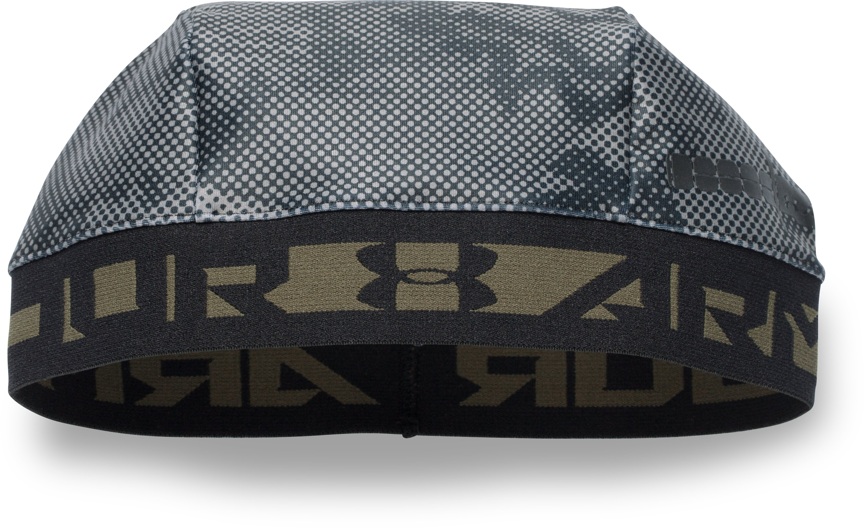 Men's UA CoolSwitch Camo Skull Cap, Black , zoomed image