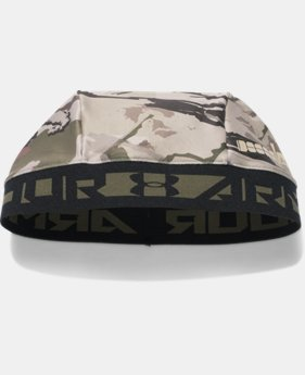 Men's UA CoolSwitch Camo Skull Cap LIMITED TIME: FREE SHIPPING 2 Colors $29.99