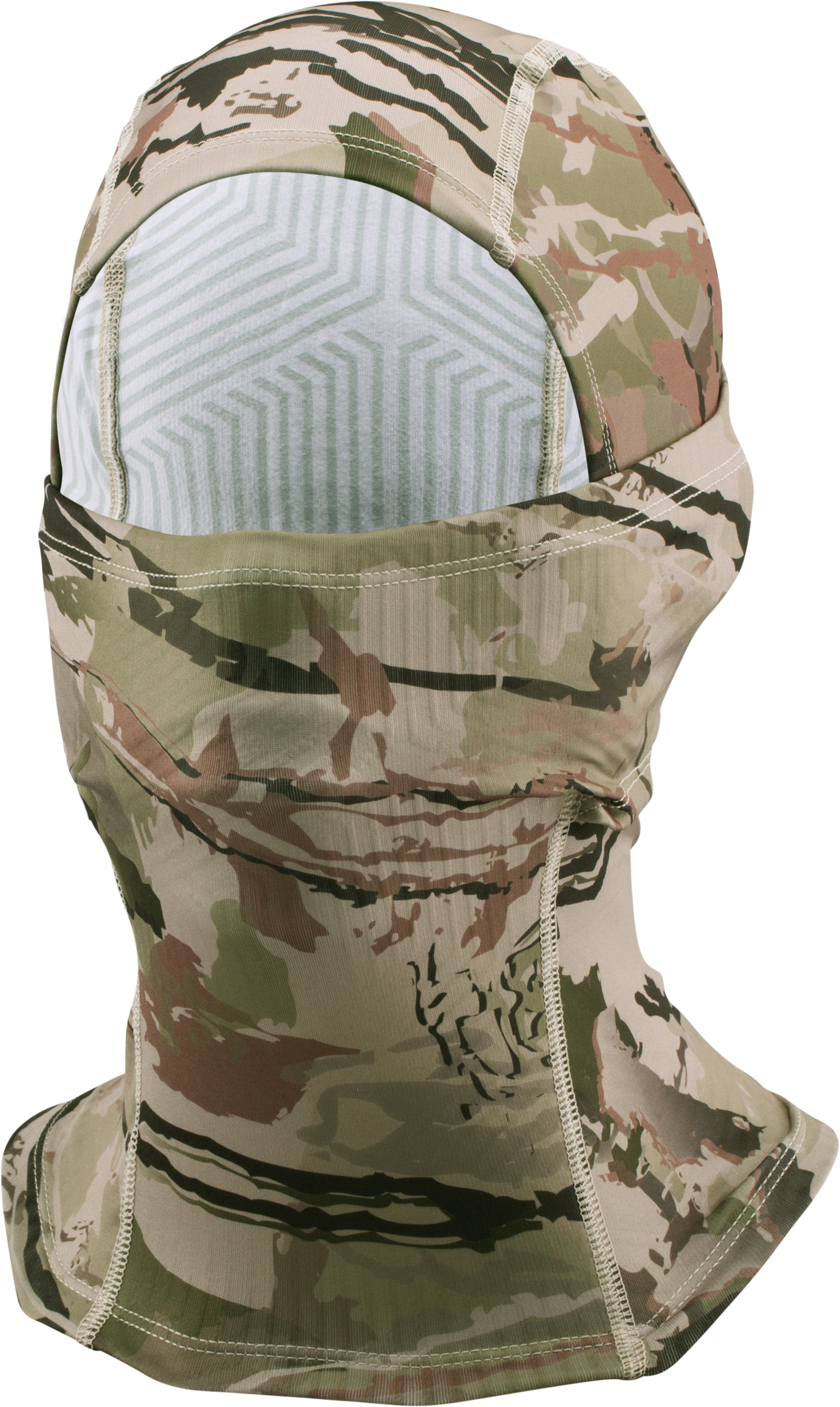 Men's UA Camo ColdGear® Infrared Hood, RIDGE REAPER® BARREN,