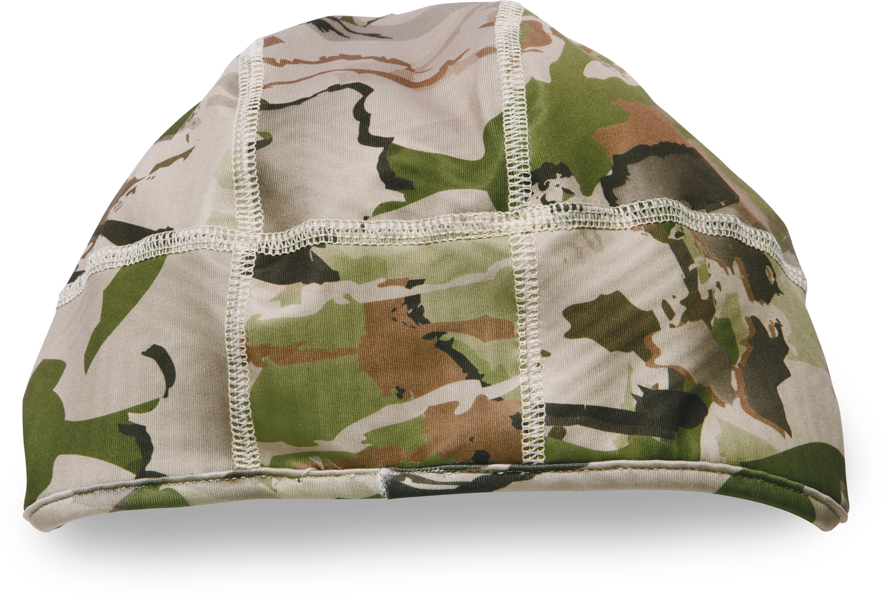 Men's UA ColdGear® Infrared Tactical Camo Beanie, RIDGE REAPER® BARREN, undefined