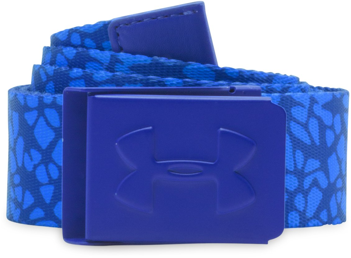 Women's UA Golf Belt, COBALT, zoomed image