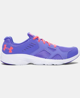 New Arrival  Girls' Grade School UA Pace Running Shoes   1 Color $54.99