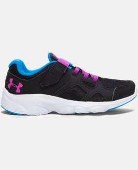 Girls' Pre-School UA Pace AC Running Shoes   $54.99