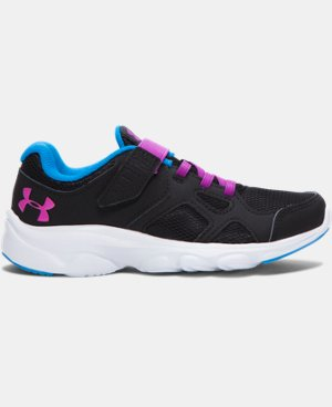 Girls' Pre-School UA Pace AC Running Shoes   $44.99