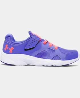Girls' Pre-School UA Pace AC Running Shoes   $23.99