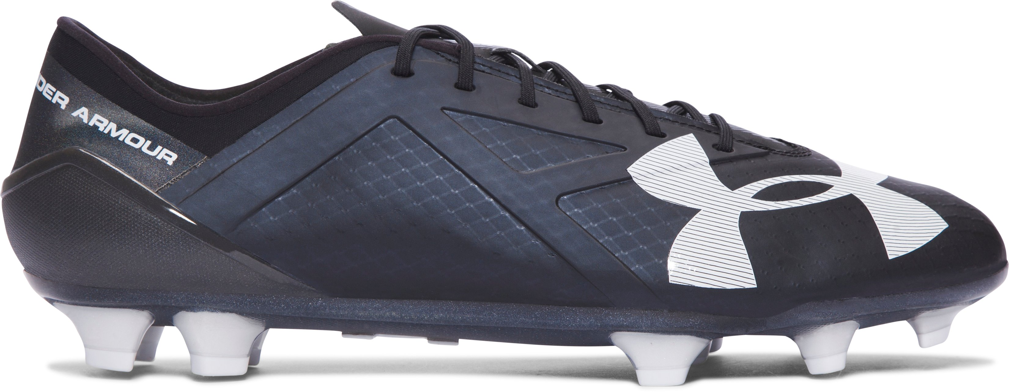 Men's UA Spotlight FG Soccer Cleats, Black