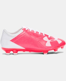 New Arrival Women's UA Spotlight DL FG Soccer Cleats   $64.99