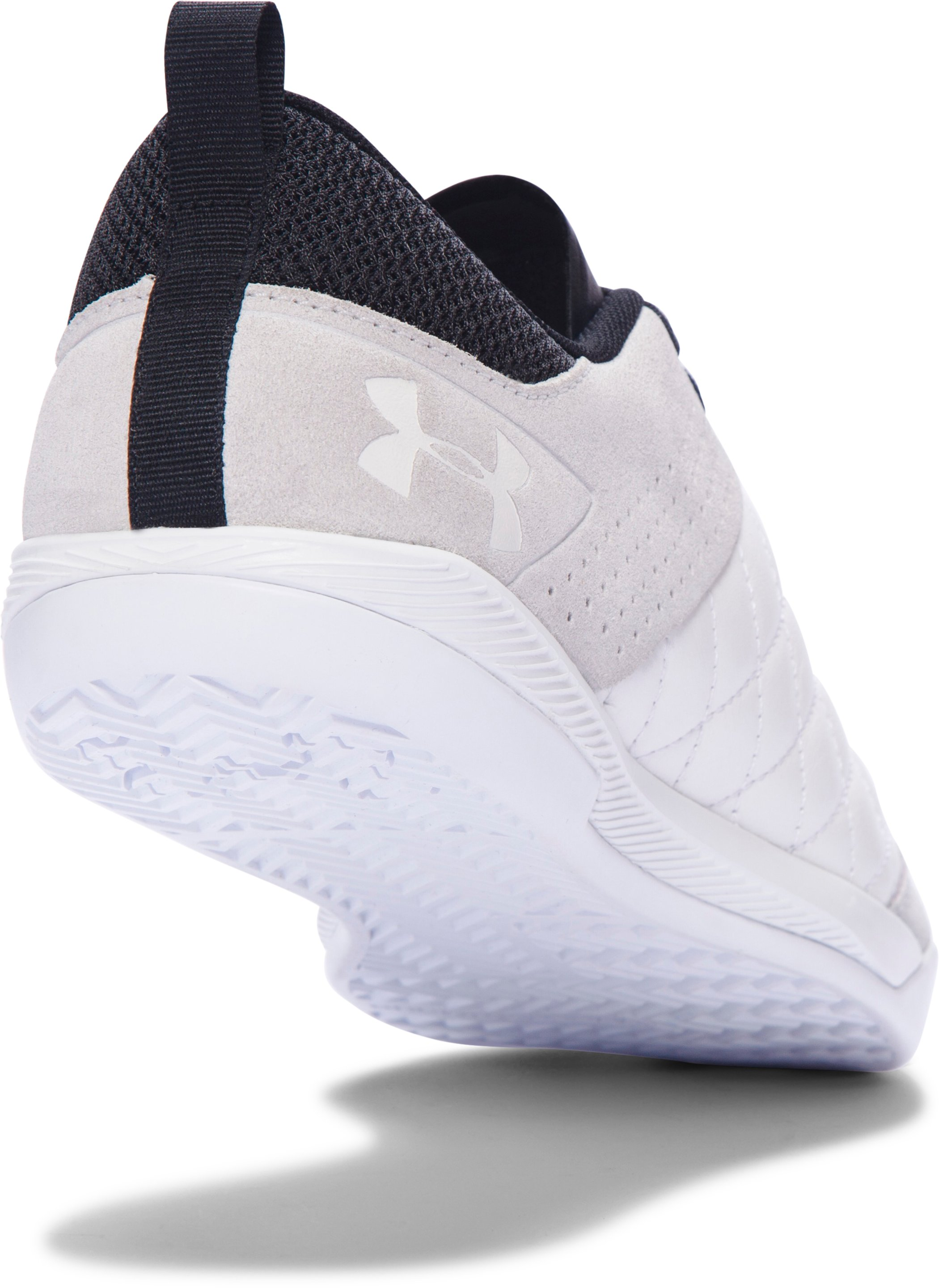 Men's UA Command Indoor Soccer Shoes, White, undefined