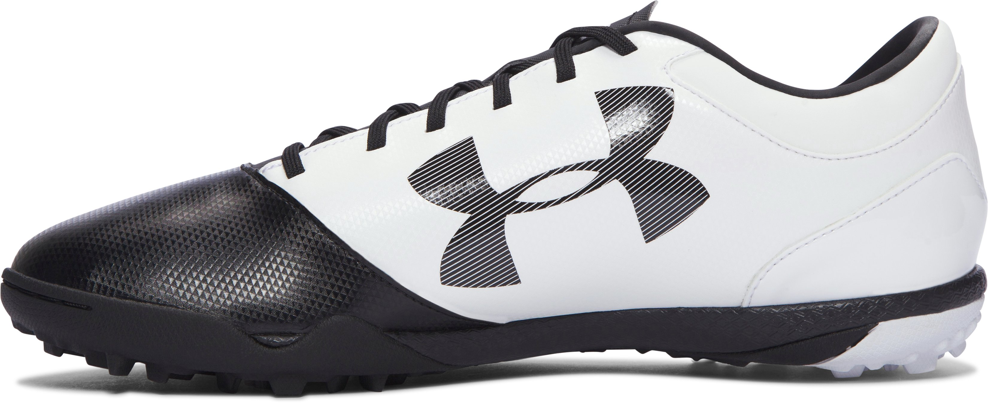 Men's UA Spotlight TR Soccer Shoes, Black , undefined