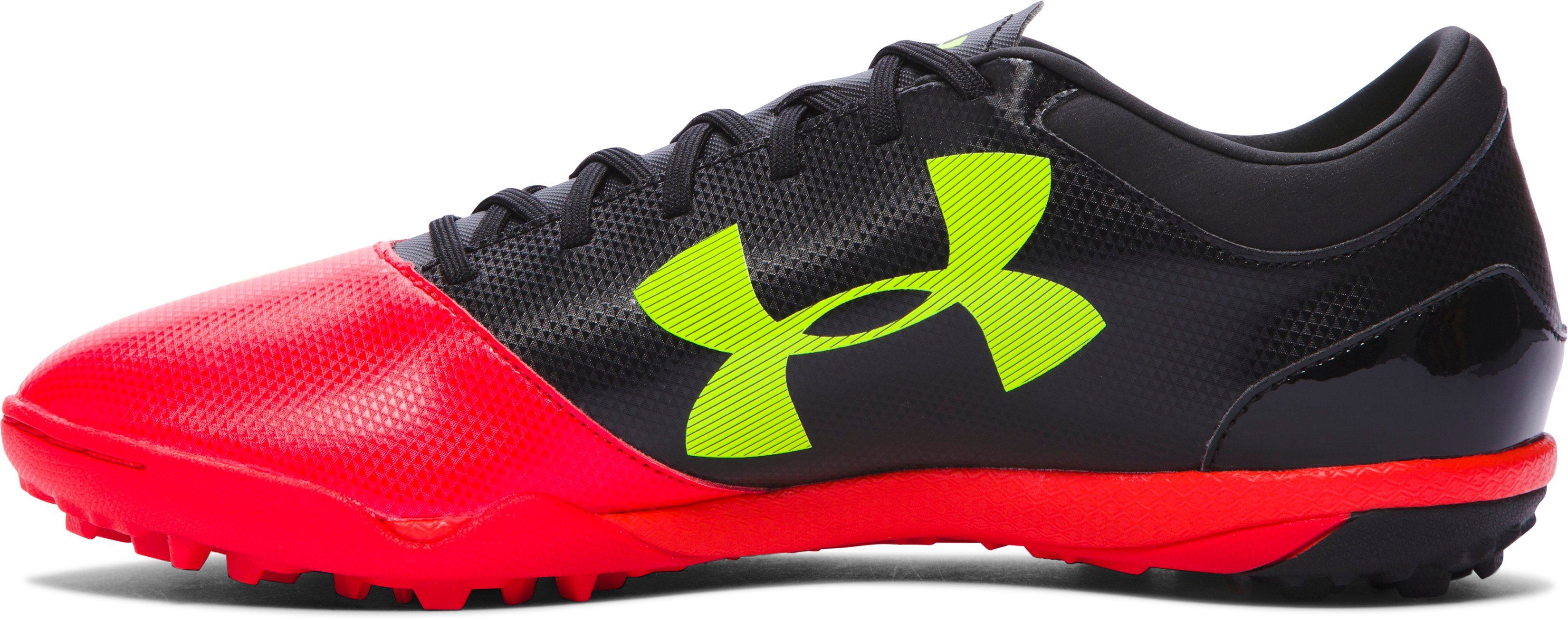 Men's UA Spotlight TR Soccer Shoes, ROCKET RED,