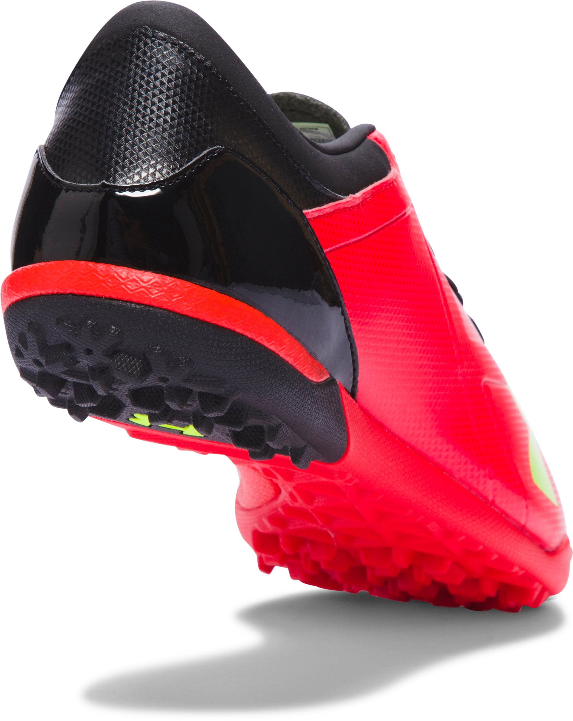 Men's UA Spotlight TR Soccer Shoes, ROCKET RED