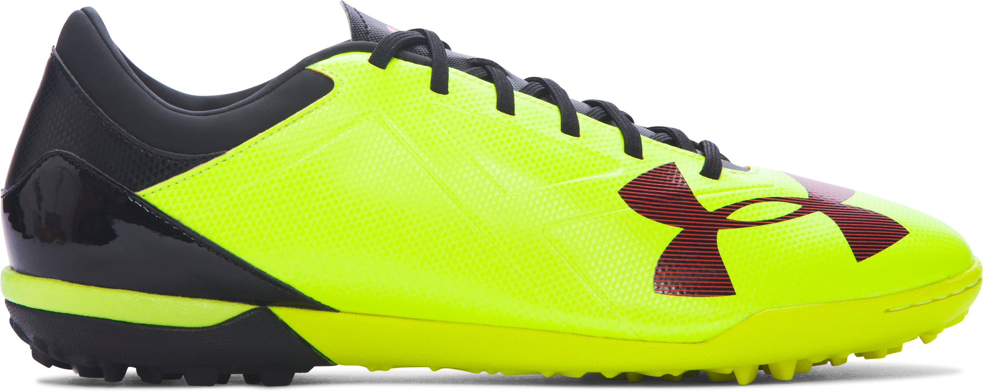 Men's UA Spotlight TR Soccer Shoes, High-Vis Yellow