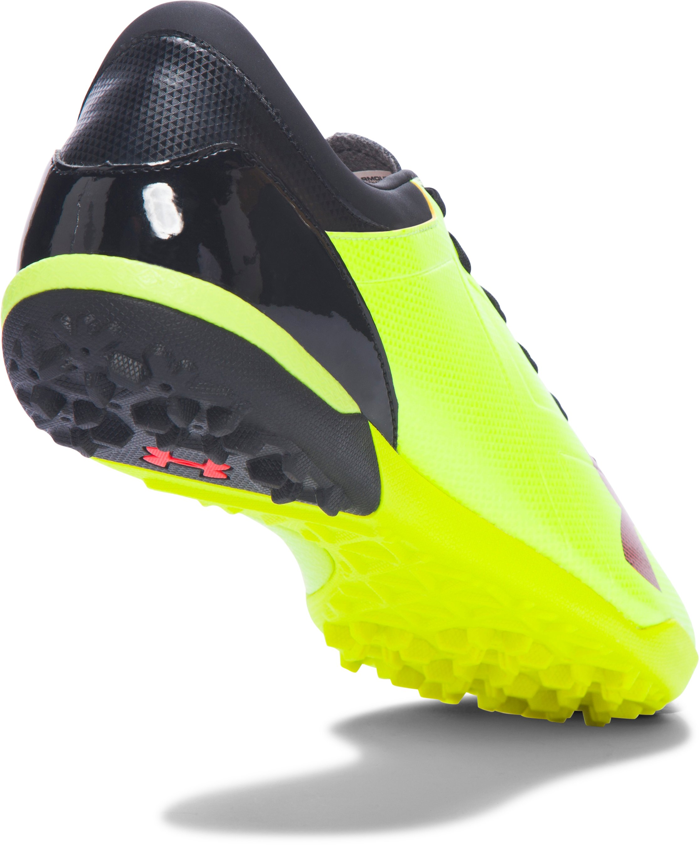 Men's UA Spotlight TR Soccer Shoes, High-Vis Yellow, undefined