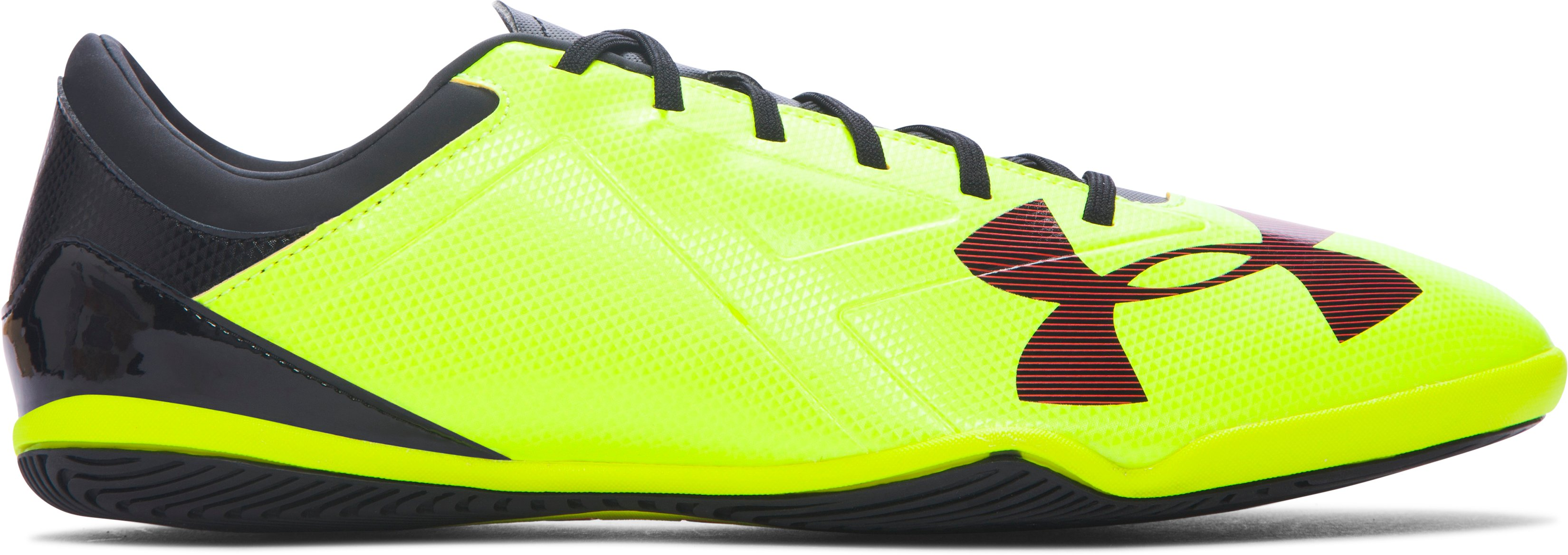 Men's UA Spotlight ID, High-Vis Yellow, zoomed image