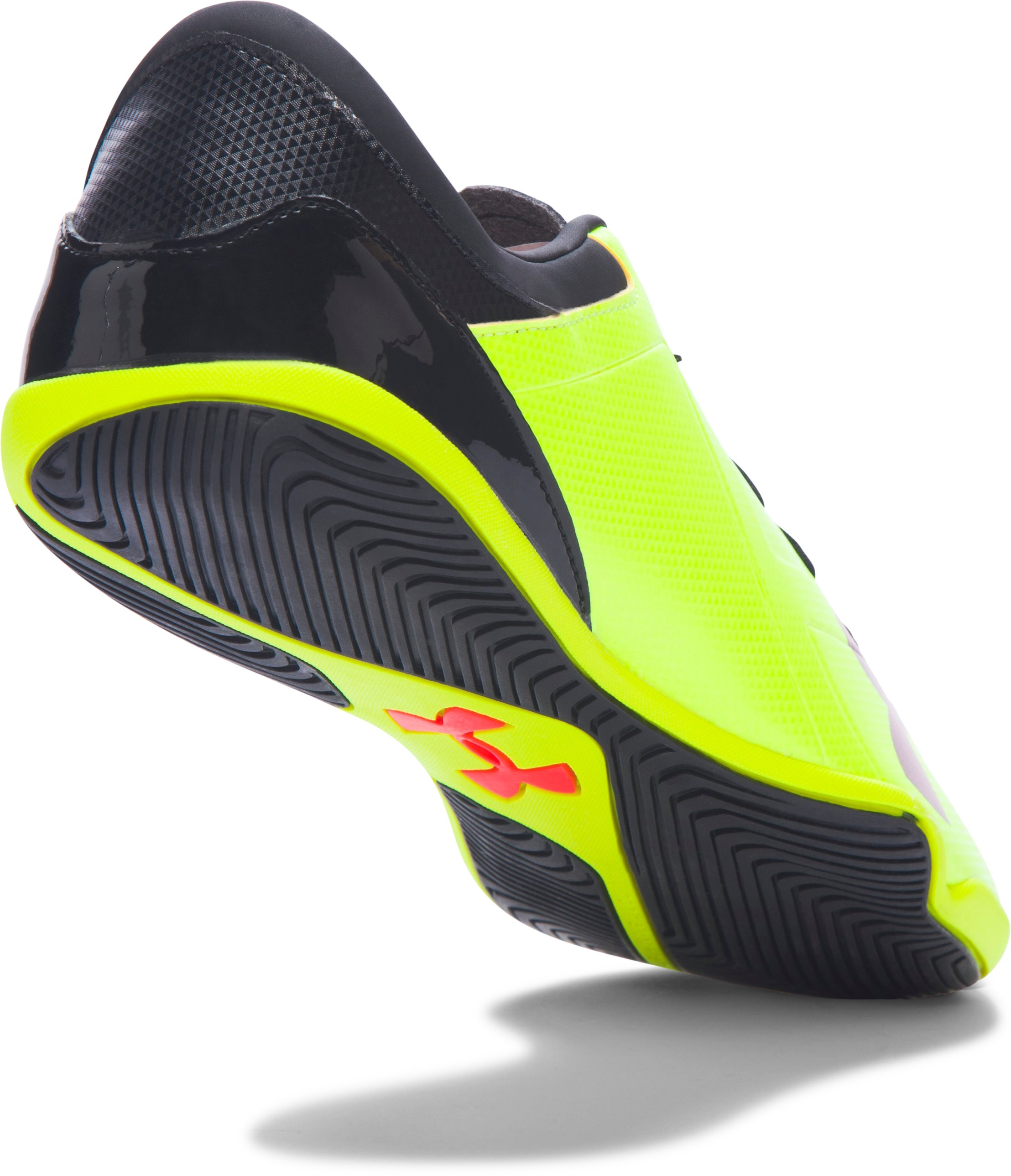 Men's UA Spotlight ID, High-Vis Yellow, undefined
