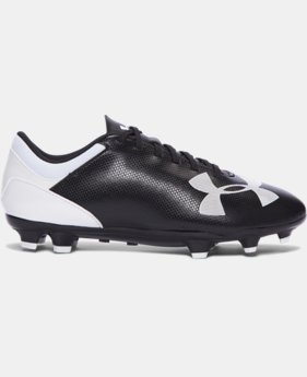 Boys' UA Spotlight DL FG JR. Soccer Cleats   $25.49