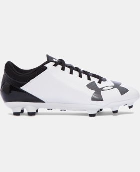 Boys' UA Spotlight DL FG JR. Soccer Cleats  1 Color $33.99