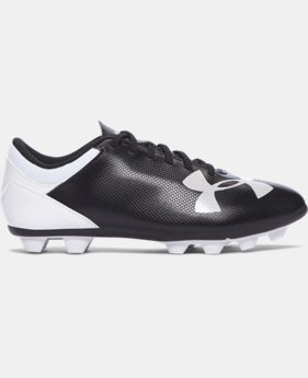 Boys' UA Spotlight DL FG-R Jr. Soccer Cleats   $17.99