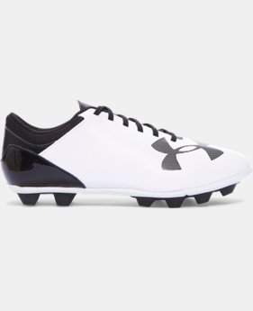 Boys' UA Spotlight DL FG-R Jr. Soccer Cleats   $31.99